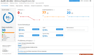 audit de site Semrush
