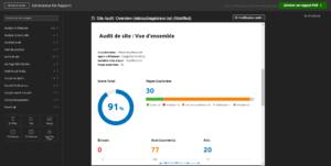 rapport audit de site semrsuh