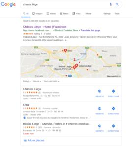 fiche entreprise google mybusiness maps seo menuisier charpentier